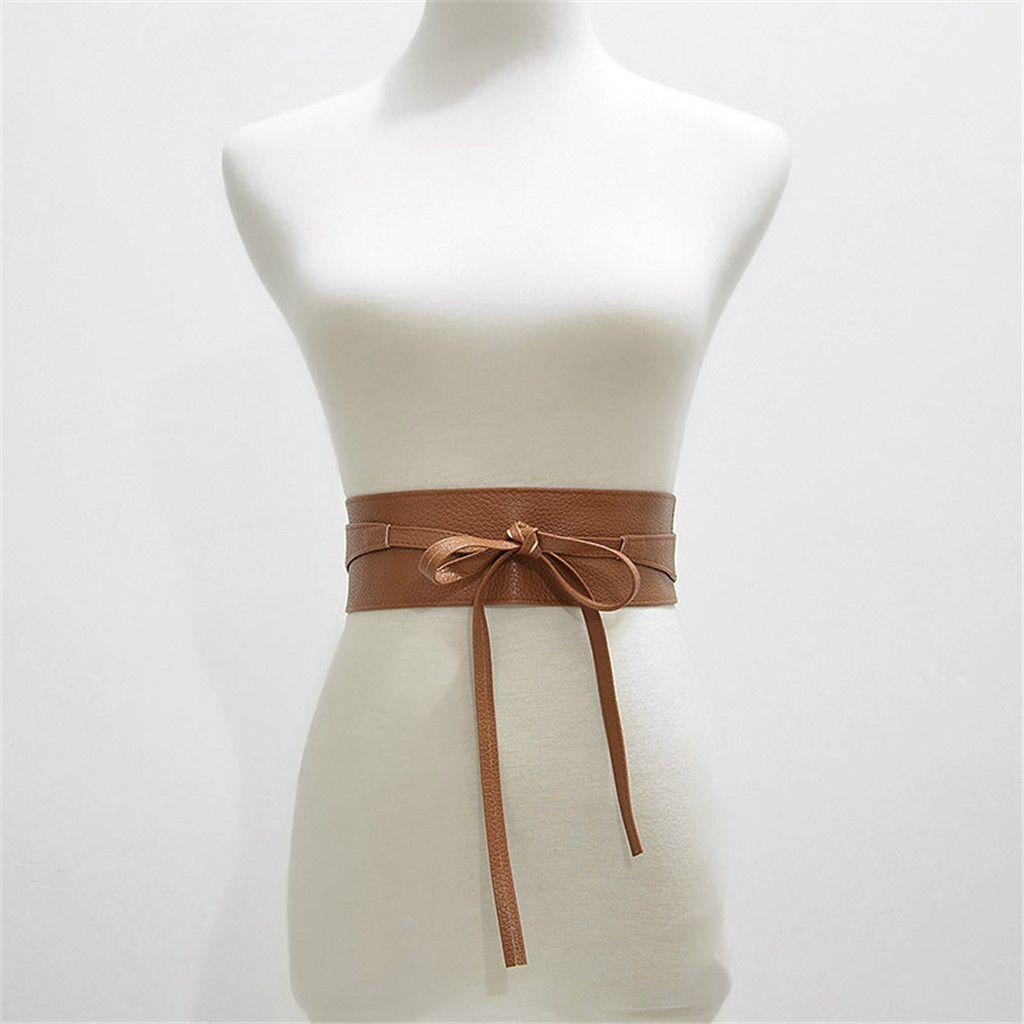 Cinghie di cuoio di JAYCOSIN donne Belt due cinghie elegante festa quotidiana bag femminile a tesa larga Appartamenti vincolante Accessori casuale PU