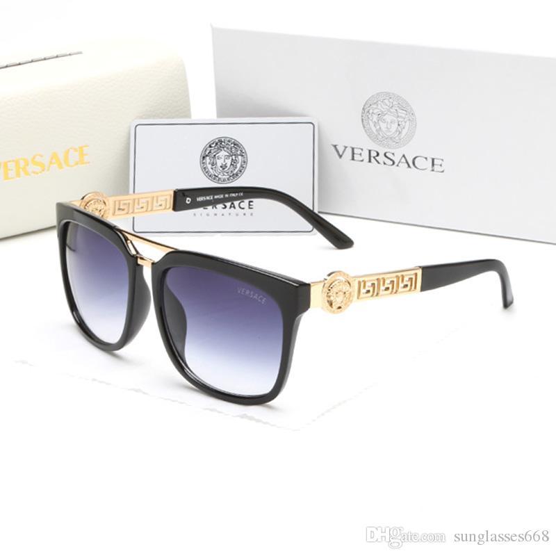 2020 Luxe Desinger Lunettes de soleil carrées avec UV400 Stamp Full Frame Lunettes de soleil pour Femmes Hommes Accessoires de mode de haute qualité G5691