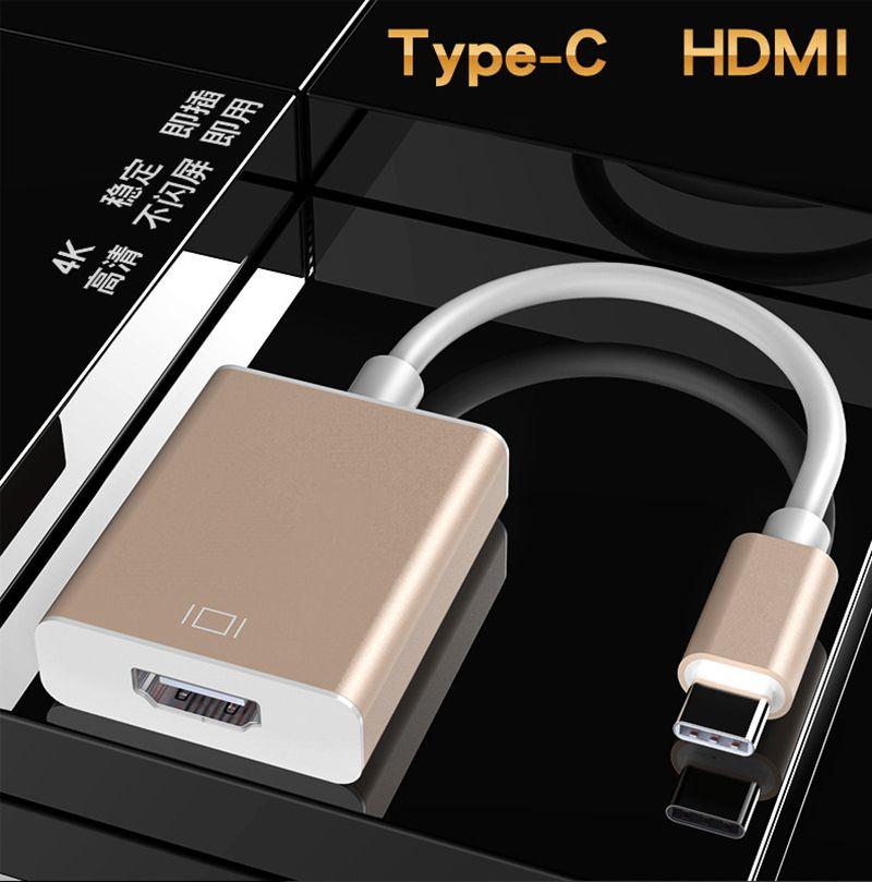 Type C Hub USB C to RJ45 HDMI VGA USB3.0 Ports with Hub for MacBook Pro Samsung Huawei 52