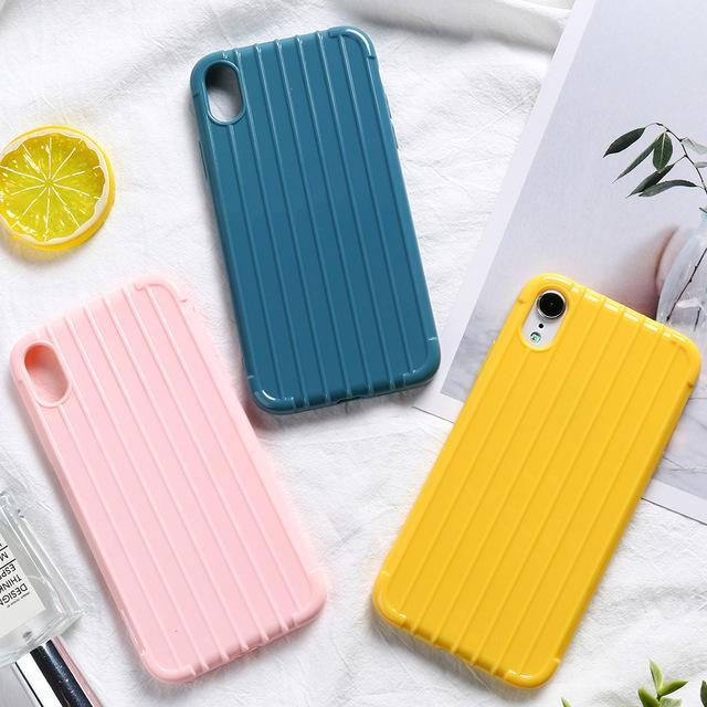 Aménagée cas d'ouverture du coffre de cas pour Huawei Honor 8X Silicon Case bonbons Pare-chocs Huawei Honor 10 9 Lite 20 10i 7A 7C Pro