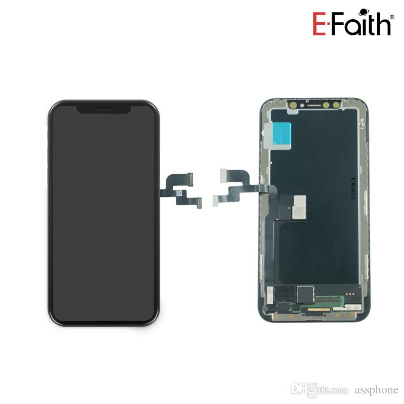 New Upgraded Soft Amoled LCD For iPhone X Perfect Color Face Recognition + Free DHL Shipping+ 1 year Warranty