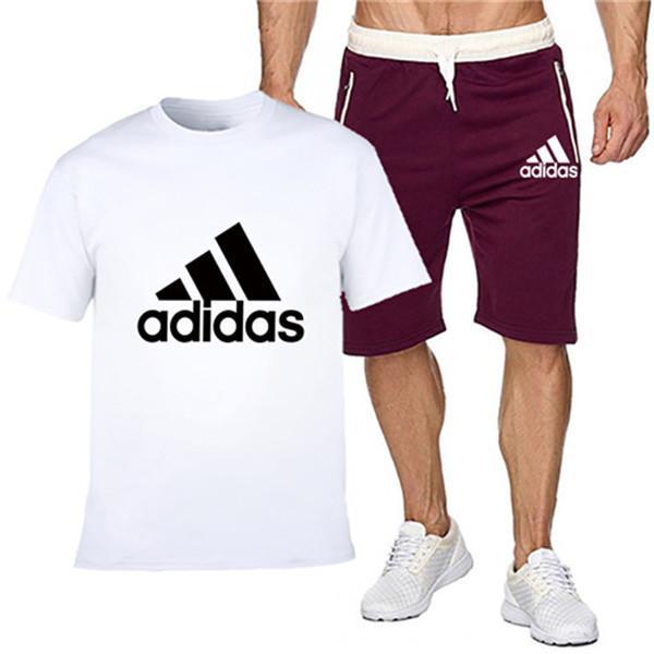Accueil Vêtements Vêtements pour hommes Survêtements Détail du produit Costumes MnstzFashion DESIGNER été T-shirts Shorts Survêtements court Sl
