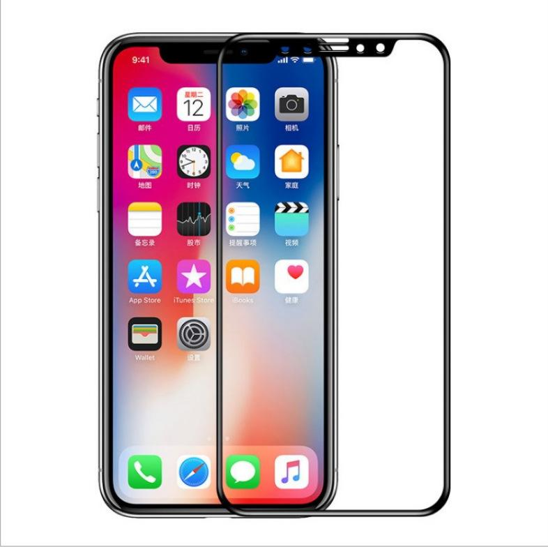 Verre trempé pour iPhone 11 / 11Pro / 11 ProMax X / X XR XSMax 7P / 8P 7/8 6P / 6SP 6 / 6S écran anti-Scrath avant Film de protection écran HD de
