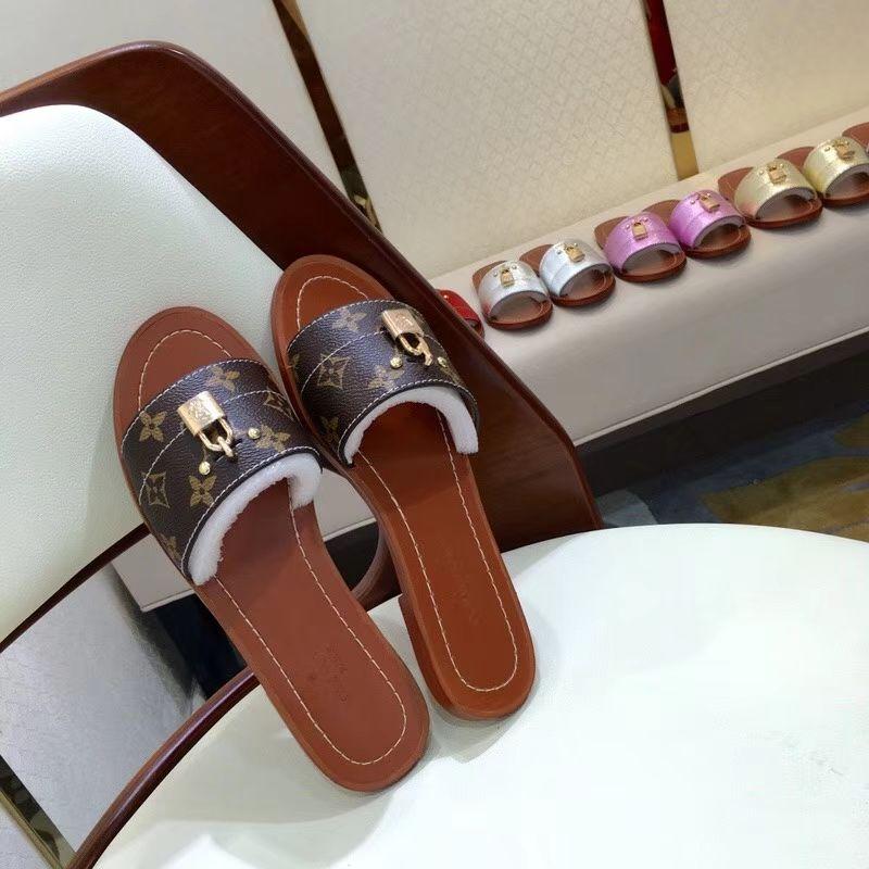 Designer women's shoes platform high heels slippers casual shoes flat shoes latest women's sandals