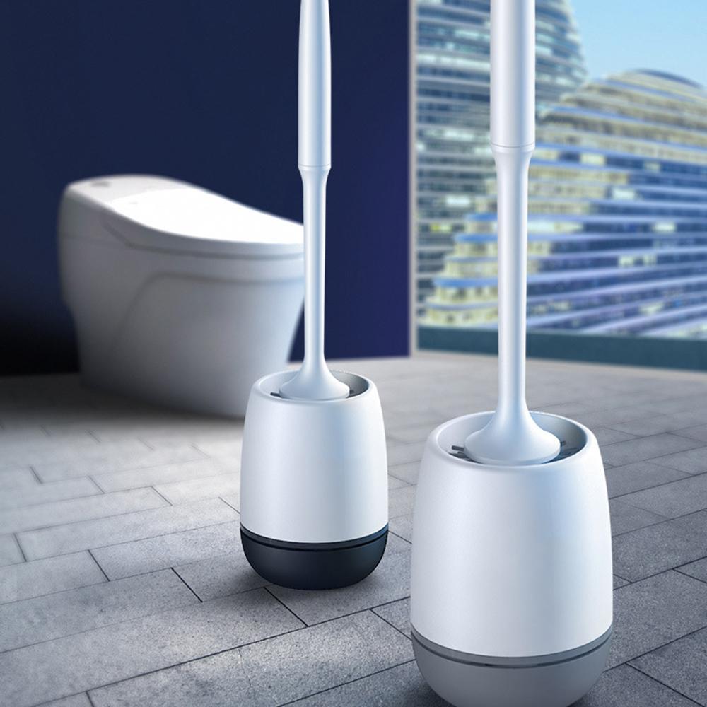 Silikon-weiche Toilettenbürste Haus Wand-Boden-Reinigungsbürste Bad-Accessoires Reinigungswerkzeug Durable Großhandel
