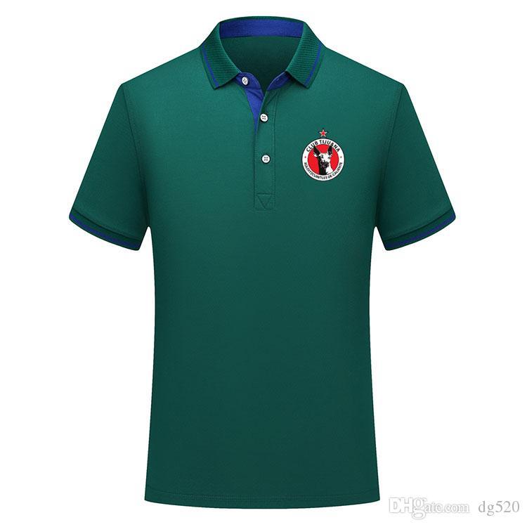 Tay versiyon kalite 19 20 Meksika Club Tijuana futbol polo gömlek Futbol Jersey MALCORRA Kalinski L.CHAVEZ 2019/20 Xolos Tijuana Polo Şir de