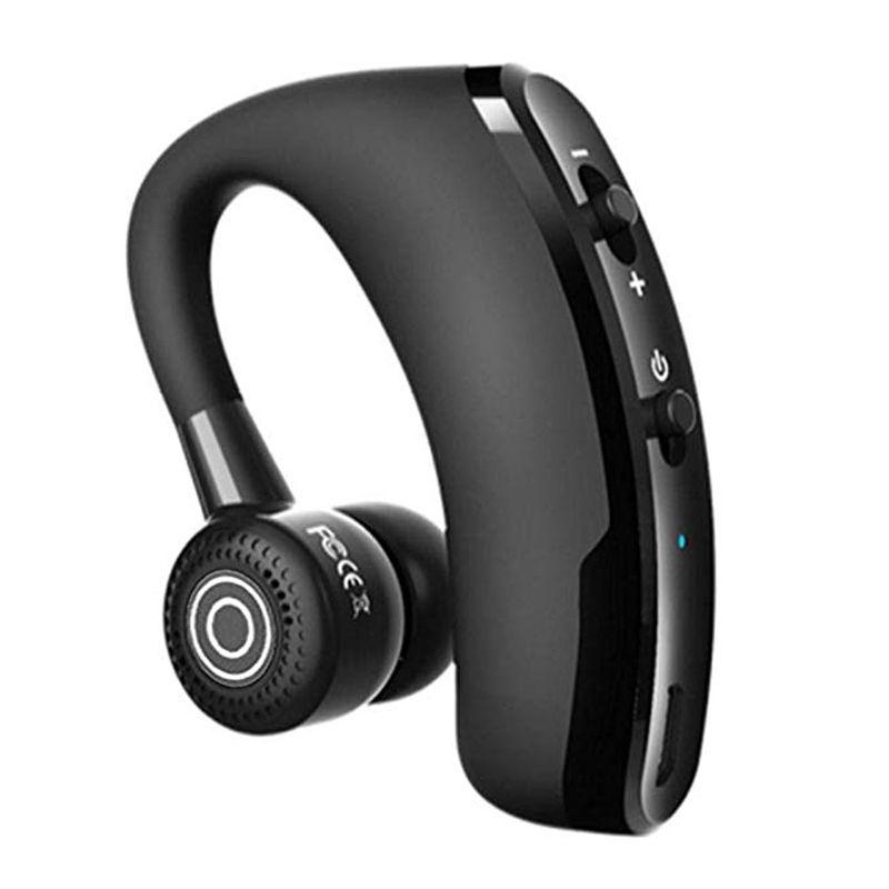 V9 sans fil Bluetooth mains libres casque 5.0 Noise Canceling écouteurs casque d'affaires Contrôle vocal avec micro pour écouteurs __gVirt_NP_NN_NNPS<__ pilote Sport