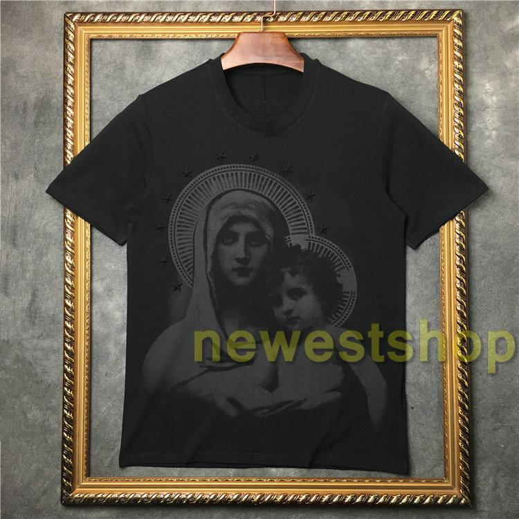 2020 Sommer neue Art und Weise virgin Stern Babydruck-T-Shirt Qualitäts-Mann-Kurzschluss-Hülsen-T-Shirts Tops Tees Freizeitkleidung