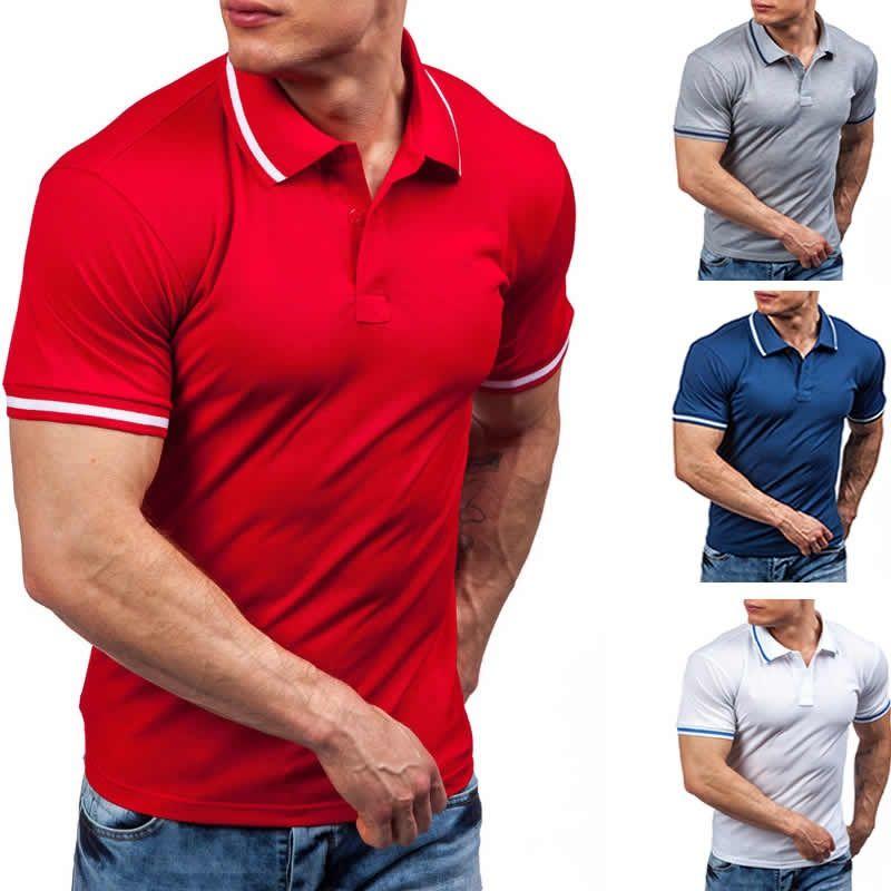 ZOGAA Brand Men Shirt Solid Color Short-Sleeve Slim Fit Shirt Men Cotton Shirts Casual Shirts 2020 New