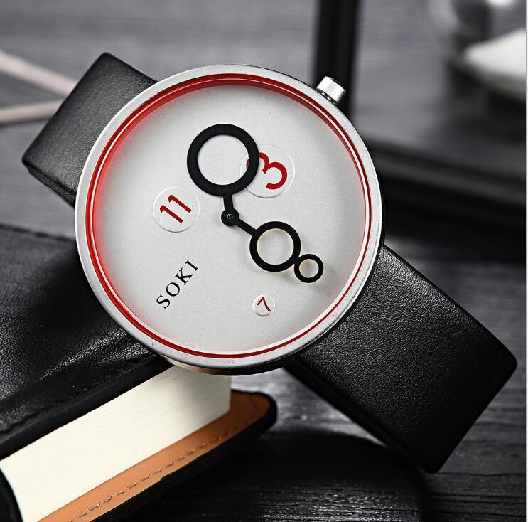 새로운 도착 남성과 여성의 방수 쿼츠 시계
