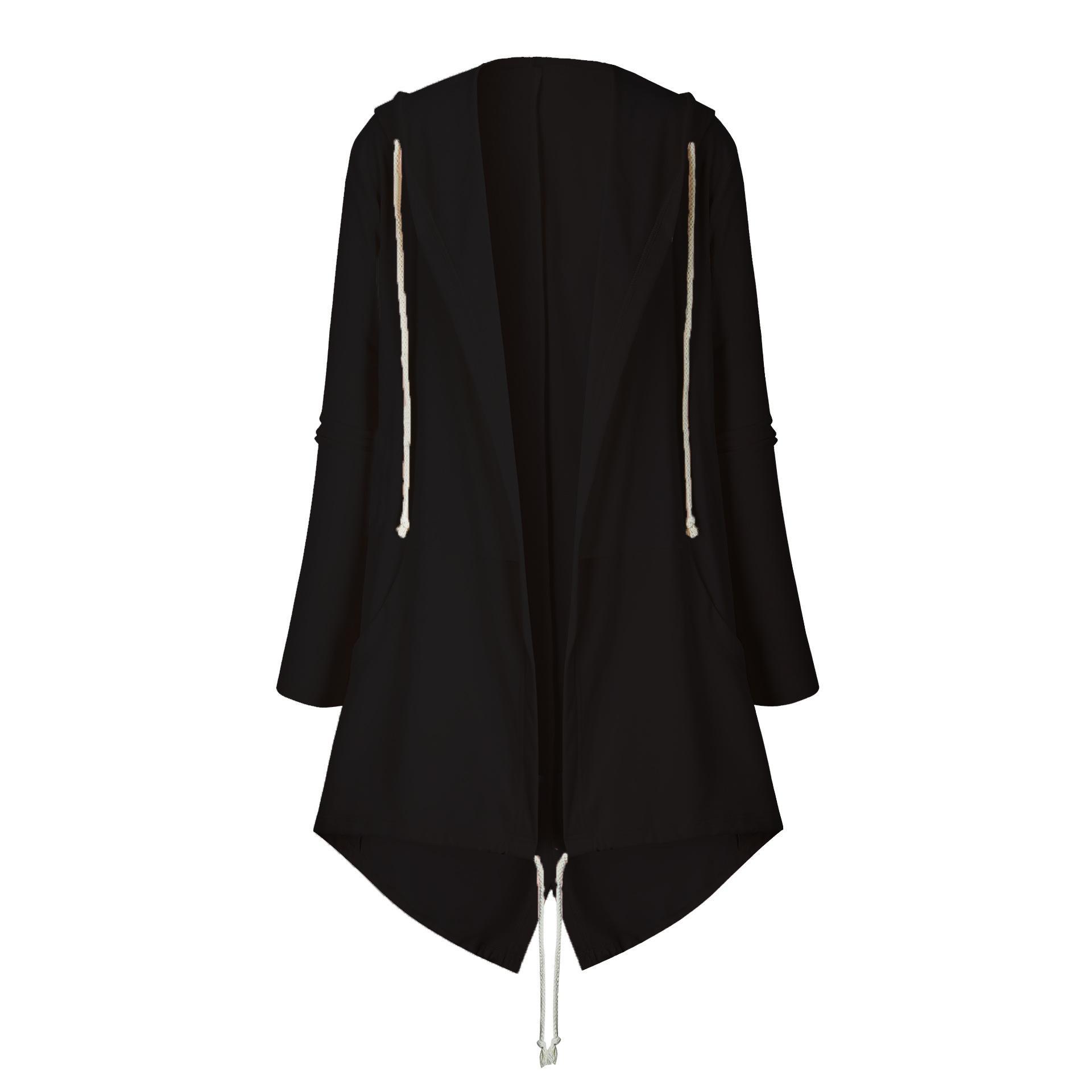 Cardigan long-style e giacca con cappuccio 054065