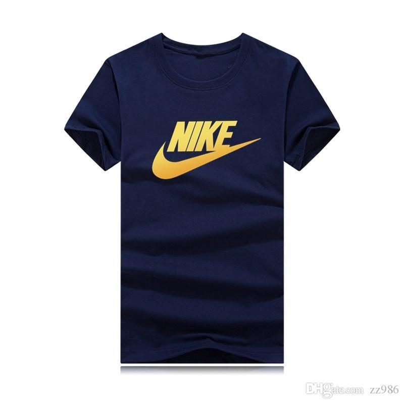 2018 Новый бренд шею футболку Street с коротким рукавом рубашки поло мужчины teel хип Дизайнерские мужские футболки