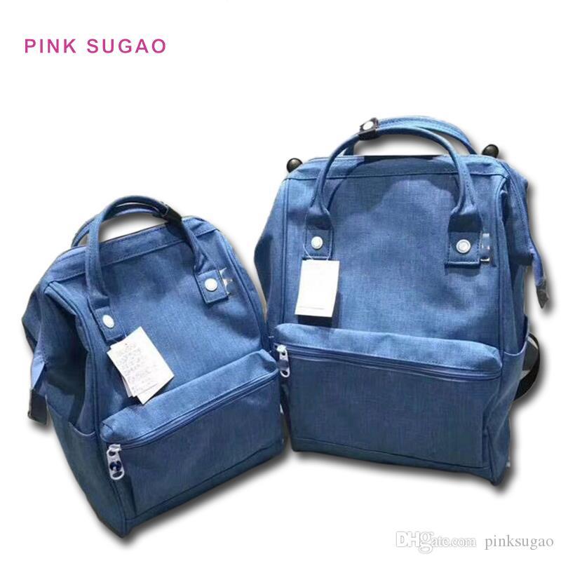 Pembe sugao tasarımcı kadın sırt çantası yeni moda lüks sırt çantaları tuval seyahat çantaları yüksek kaliteli okul çantası ücretsiz kargo 2 boyutları sırt çantası