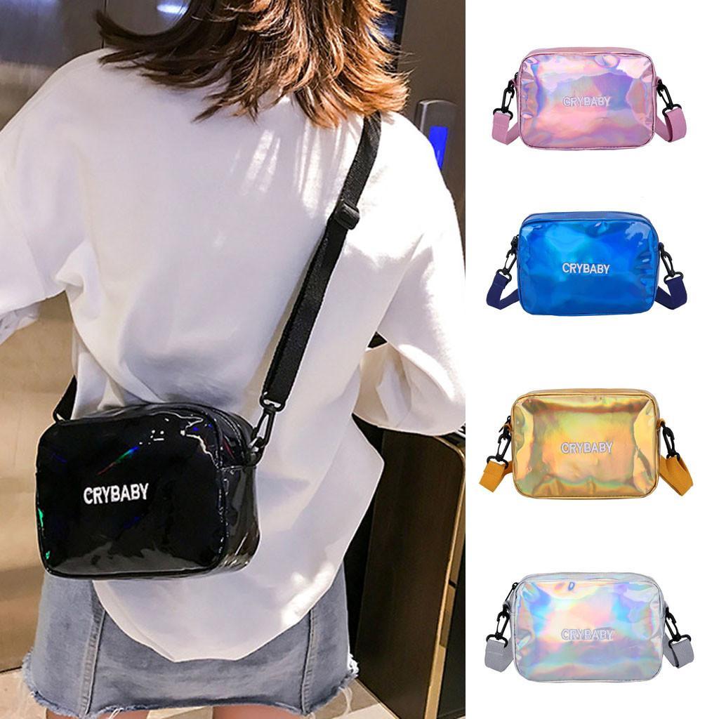 Kadınlar için Yeni Kadın Çantası Moda Omuz Çantası Öğrenci Küçük Renkli Kare crossbody çantalar