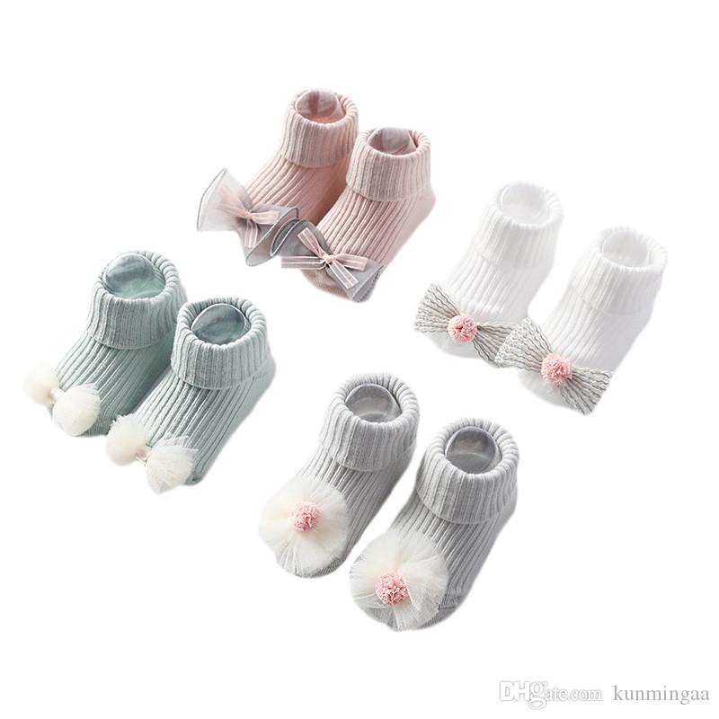 Infant Baby Socks Anti Slip Cartoon Baby Socks for Girls Cotton Newborn Boy Toddler Socks Baby Clothes Accessories