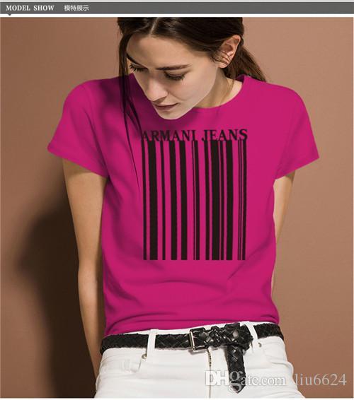 2019 neue damenmode dünne kragen damen casual baumwolle t-shirt, mehrfarbig optional größe standard s-xl