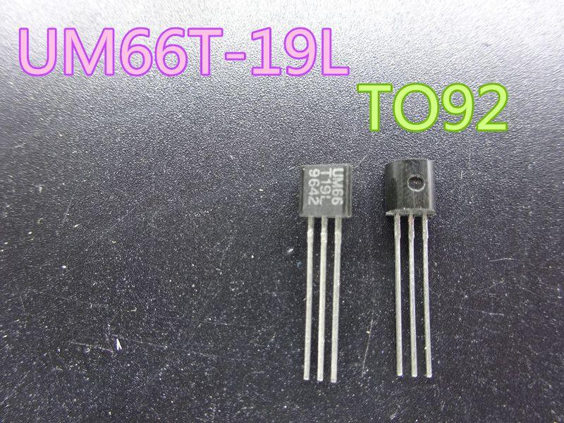 50pcs / lot Nouveau Triode transistor UM66T-19L UM66T TO92 en stock Livraison gratuite