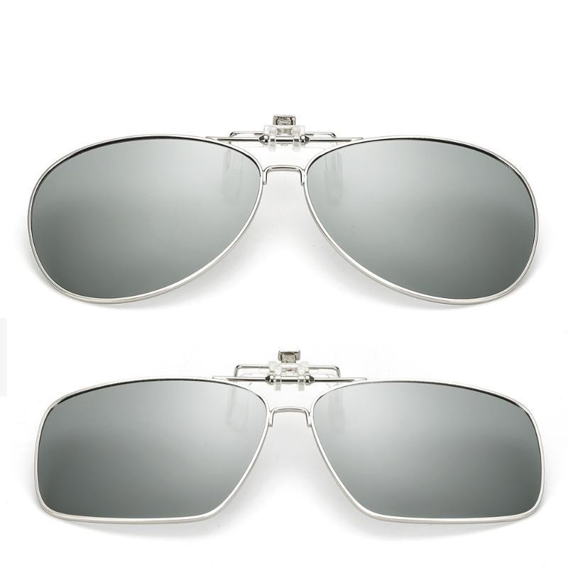 Vazrobe 3-8s اللونية الاستقطاب النظارات الشمسية عدسة الرجال النساء الحرباء نظارات الشمس كليب على عدسة الديوبتر سائق وصفة طبية