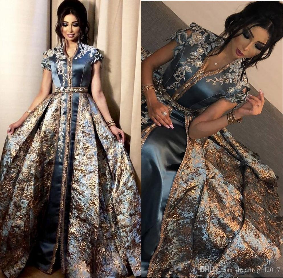 Middle East Dubai Abaya Kaftan Kleider Elegant Evening Formal Dresses 2020 Evening Gowns Party Dress Evening Wear Robe De Soiree Evening Dress Uk Evening Dresses Melbourne From Dream Girl2017 184 93 Dhgate Com