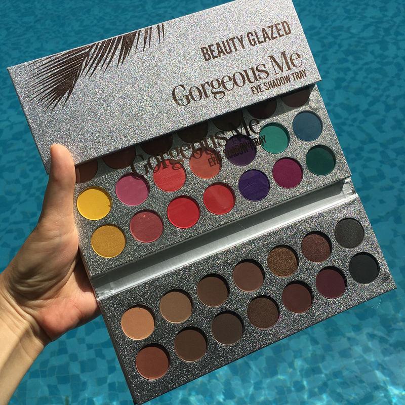GÜZELLİK CAMLI Hudas Dupe 63 Renk Makyaj Göz Farı Pallete Kolay Göz Farı Paleti Pırıltılı Doğal Makyaj Paleti Wear için