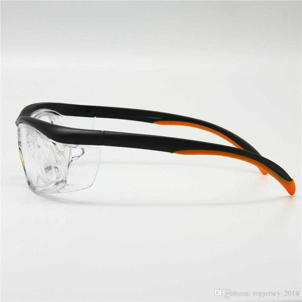 Compre Esportes Óculos Com Destacável Rx Inserir Óculos De Segurança Anti  Poeira Anti Estática Laboratório De Uso Médico Óculos De Trabalho   138359  De ... 20251c91af