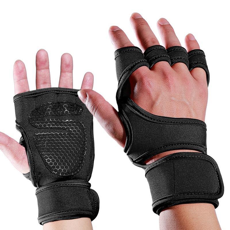 Fitness Palm Guardie Fitness Guanti sportivi Guanti Training compressione da polso