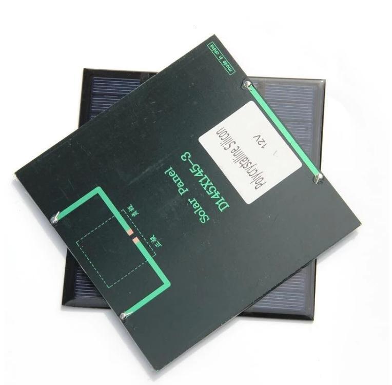 3watt silicone policristalino Solar Cells 12V DIY Solar Carregador de Bateria 145 * 145mm 3W pequeno Painéis Solares aquecedores 4pcs