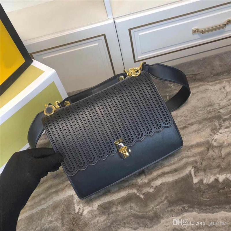 bolsa bolsas Designer-luxo KAN I moda totes estilo oco mulheres designer sacos de couro genuíno F saco bolsa