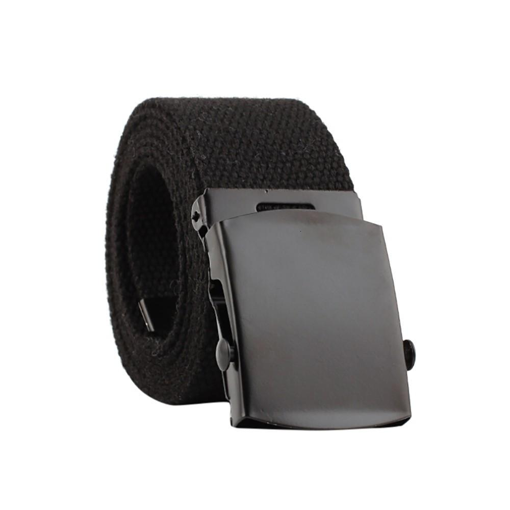 2019 Unisex Automatic Fashion Nylon Belt Buckle Classic Popular Casual Light Practical Woven smooth canvas