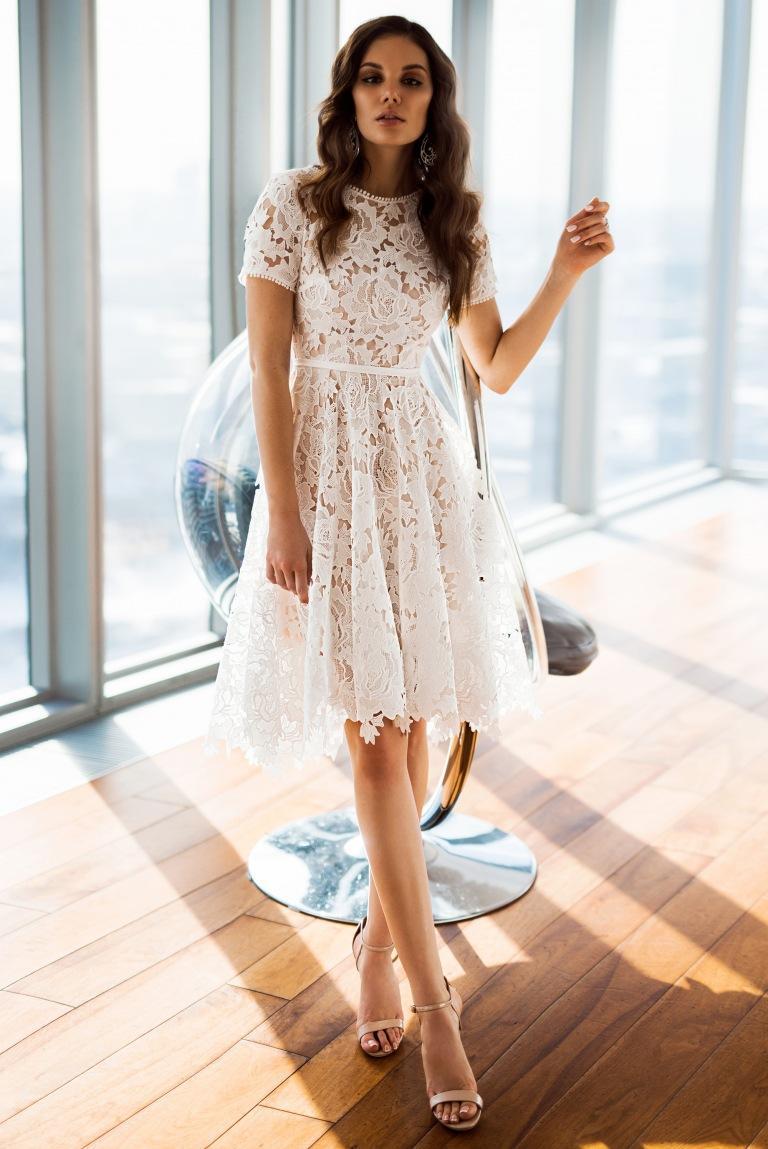 2020 del verano del vestido ocasional de las mujeres corto de manga larga vestido de la impresión floral de Boho vestido maxi cuello alto vendaje vestidos elegantes Vestido # 8