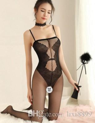 низкая цена высокой qualiry оптовый 3шт / много кружева прозрачной дамы белья nighgown пижама пижама 8.9y