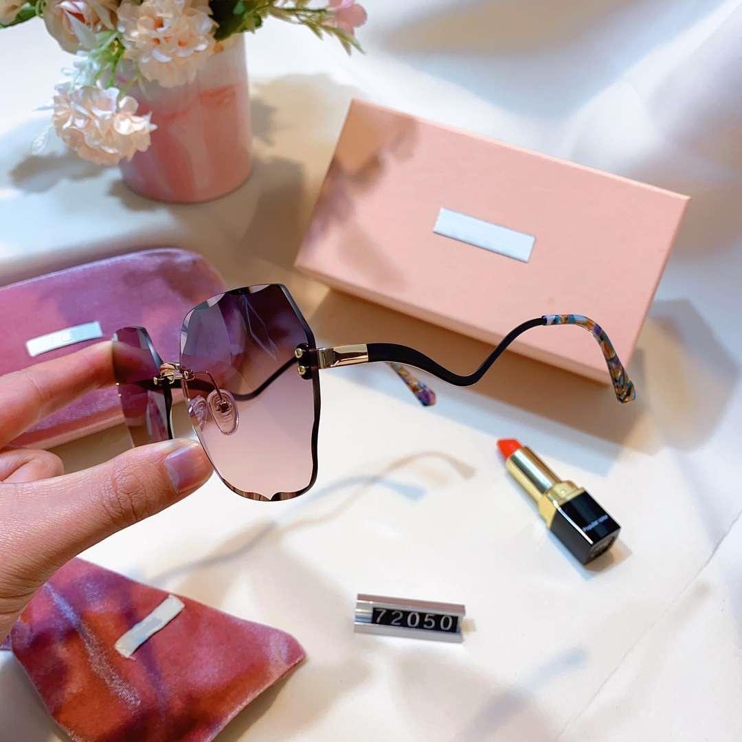 الصيف المرأة مصمم النظارات الشمسية المرأة حملق النظارات الشمسية UV400 MM 72050 5 اللون نوعية ممتازة مع صندوق