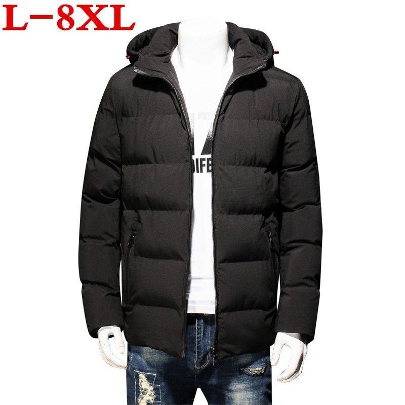 Nuovo Plus Size 8xL 7XL 6XL Giacca invernale Uomo Men's Coat Inverno Marca Abbigliamento uomo Abbigliamento CasaCos Masculino Costume Cappotto grande grande grande