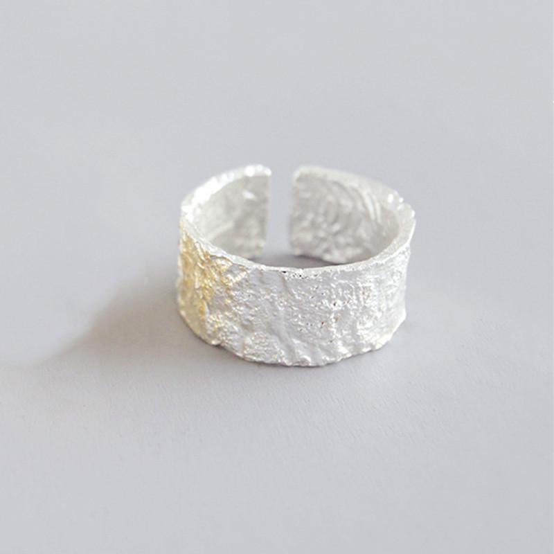 Geometric Irregular Abstract Vintage Open Ring Metal Finger Rings for Women Party Jewelry Accessories
