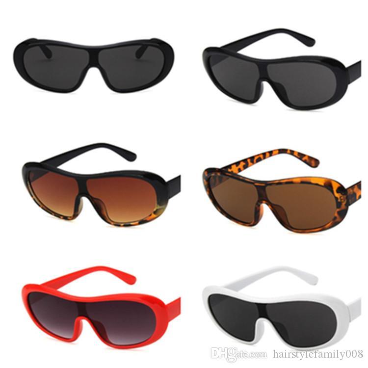 Moda Kadınlar Men kişilik Güneş Siyam Lens Güneş Gözlük Anti-UV Gözlük Oval Gözlükler Gözlüğü Adumbral A ++