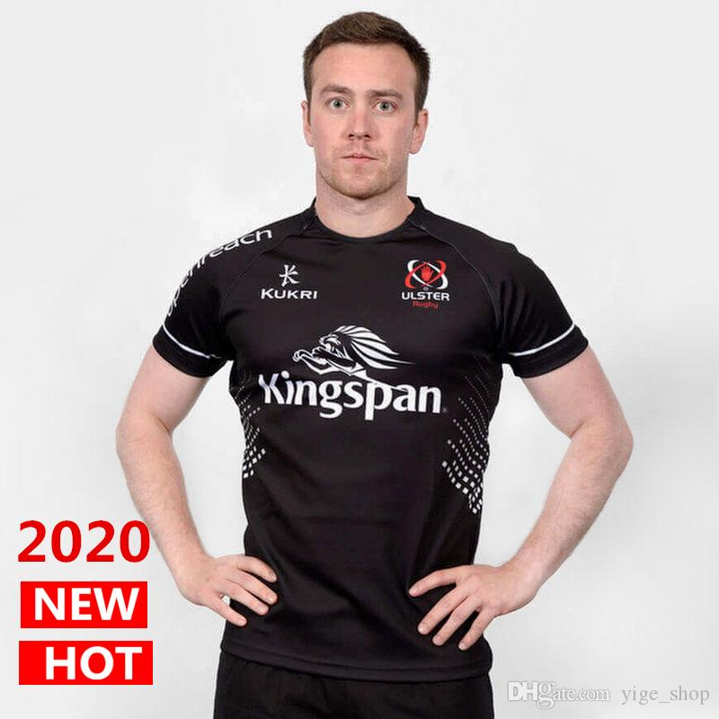 DHL free shipping 2020 NEW ulster home and away Rugby Jerseys kukri shirt ULSTER national team League jersey Leisure sports shirts S-3XL