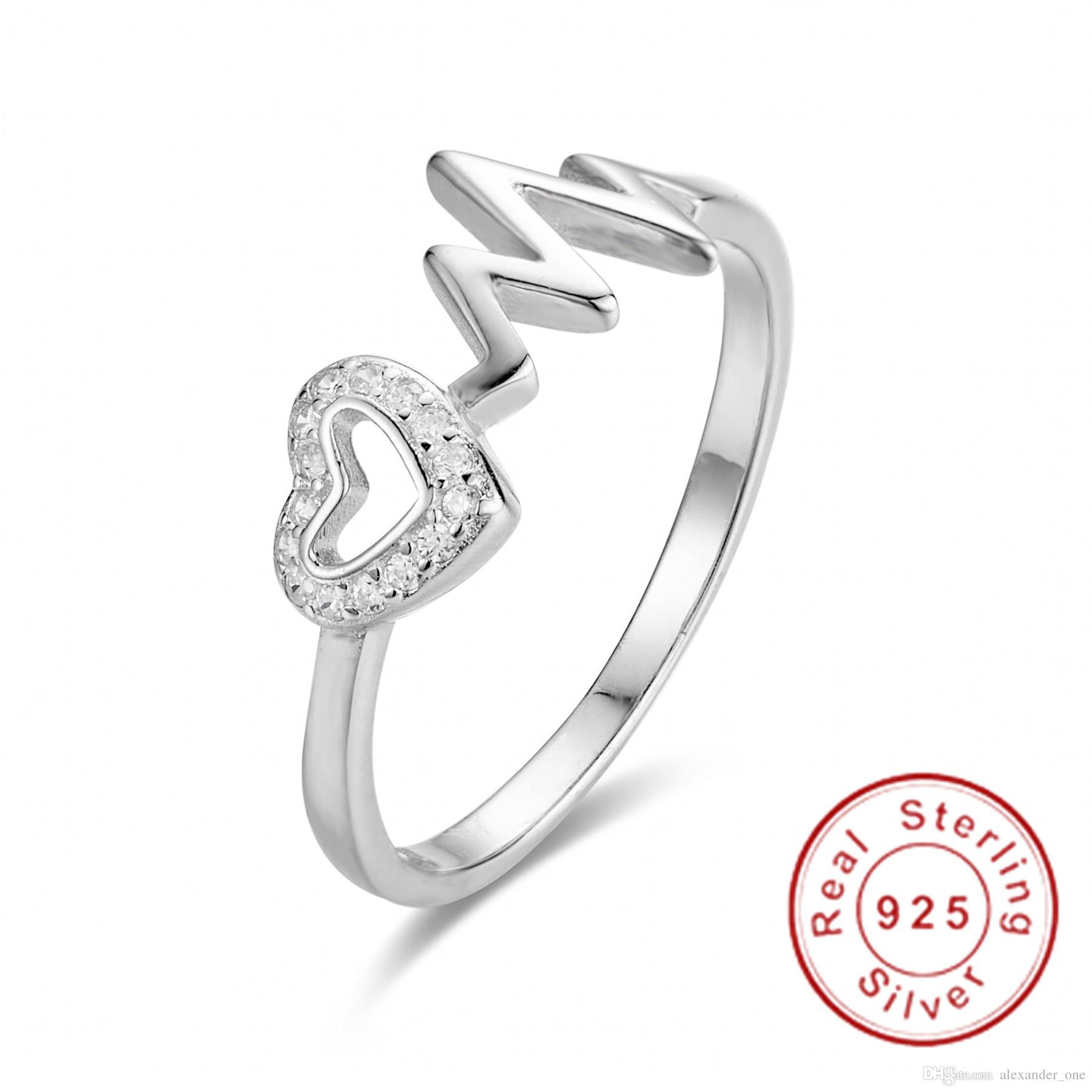 USA Seller Band Ring Sterling Silver 925 Best Price Jewelry Gift Selectable