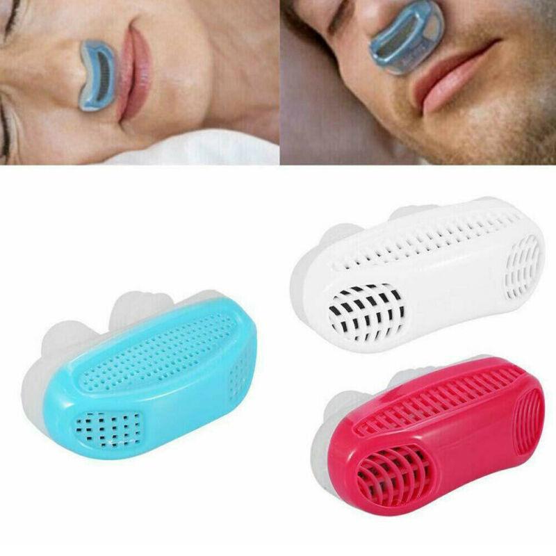 Roncar reduzir a ajuda Elétrica Mini CPAP Anti ronco dispositivos para Apnea Parar EUA novas ferramentas Acessórios @ 11