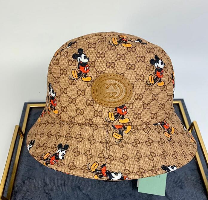 Frühjahr / Sommer 2020 Fashion Mehrzweckbriefdruck Wannenhut Fischer Hut im Freien Reise Sonnenhut Frauen, Männer Baseballmützen Großhandel 28