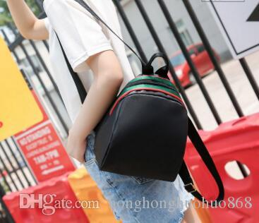2020 Hot Ice Ice Star con il panno di Oxford selvaggio semplice studente piccolo zaino coreano femminile del sacchetto di spalla di tela del sacchetto della signora