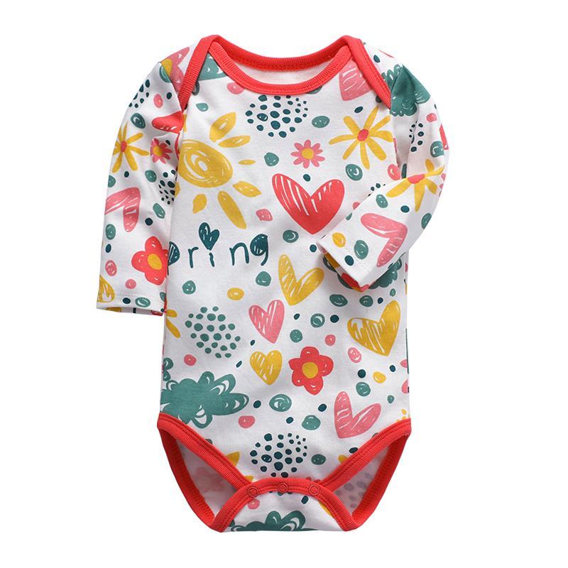 Младенцы Боди Новорожденный Одежда Младенца С Длинным Рукавом 3 6 9 12 18 24 Месяцев