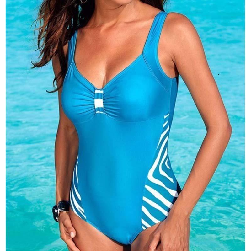 Sexy 5XL One Piece Grand maillot de bain fermé Plus Size Maillots de bain avec push Suit Up Maillot de bain femme corps féminin pour la piscine Beach Wear