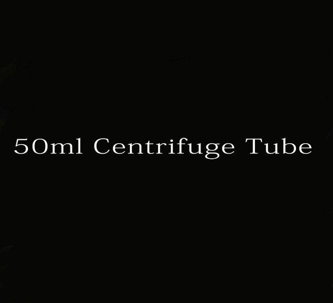 * 28mm 104mm 50pcs 50 ml en plastique transparent laboratoire d'essai clair Tubes à centrifuger école Fournitures de laboratoire