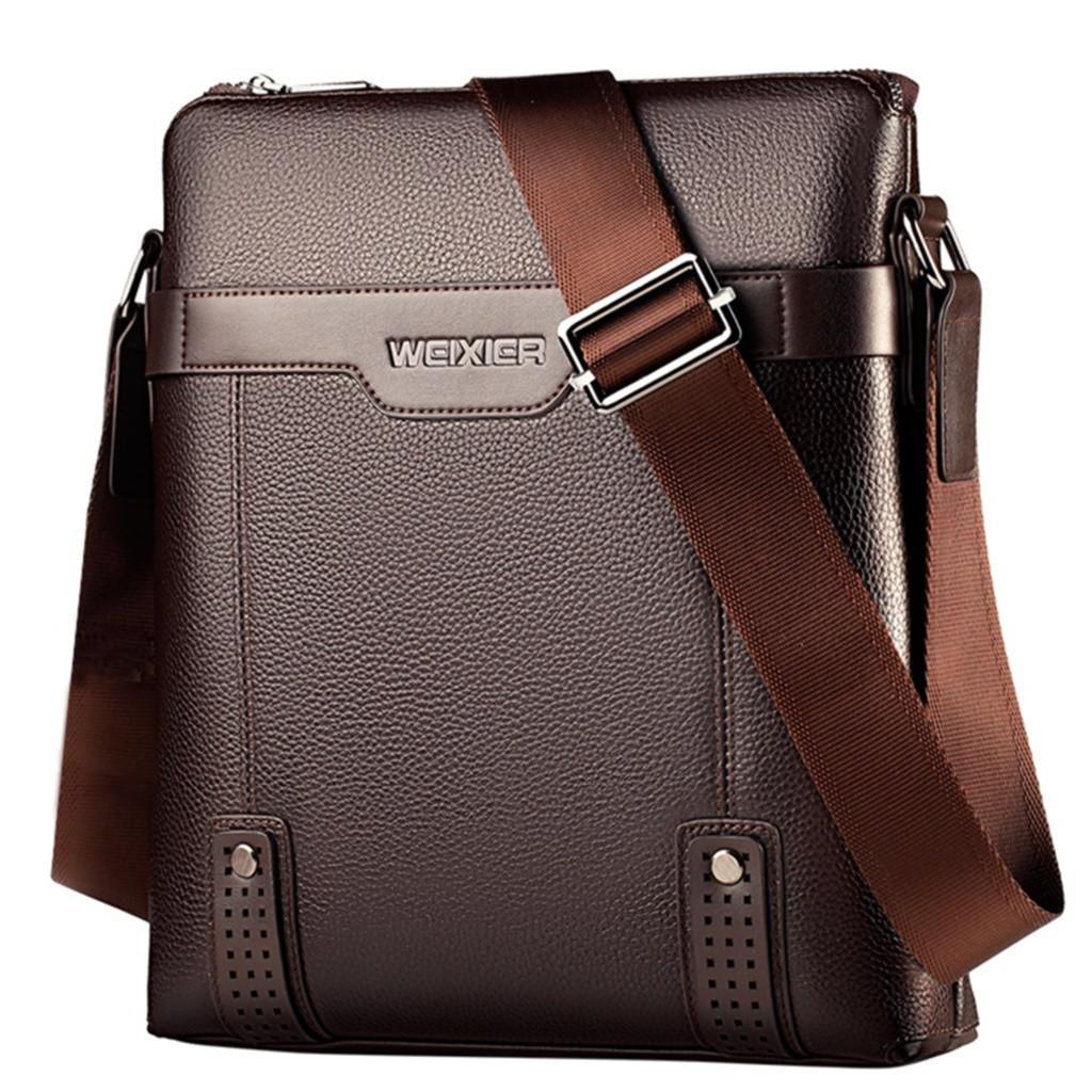 Mens Bag Business Shoulder Bag Anti-Theft Bag