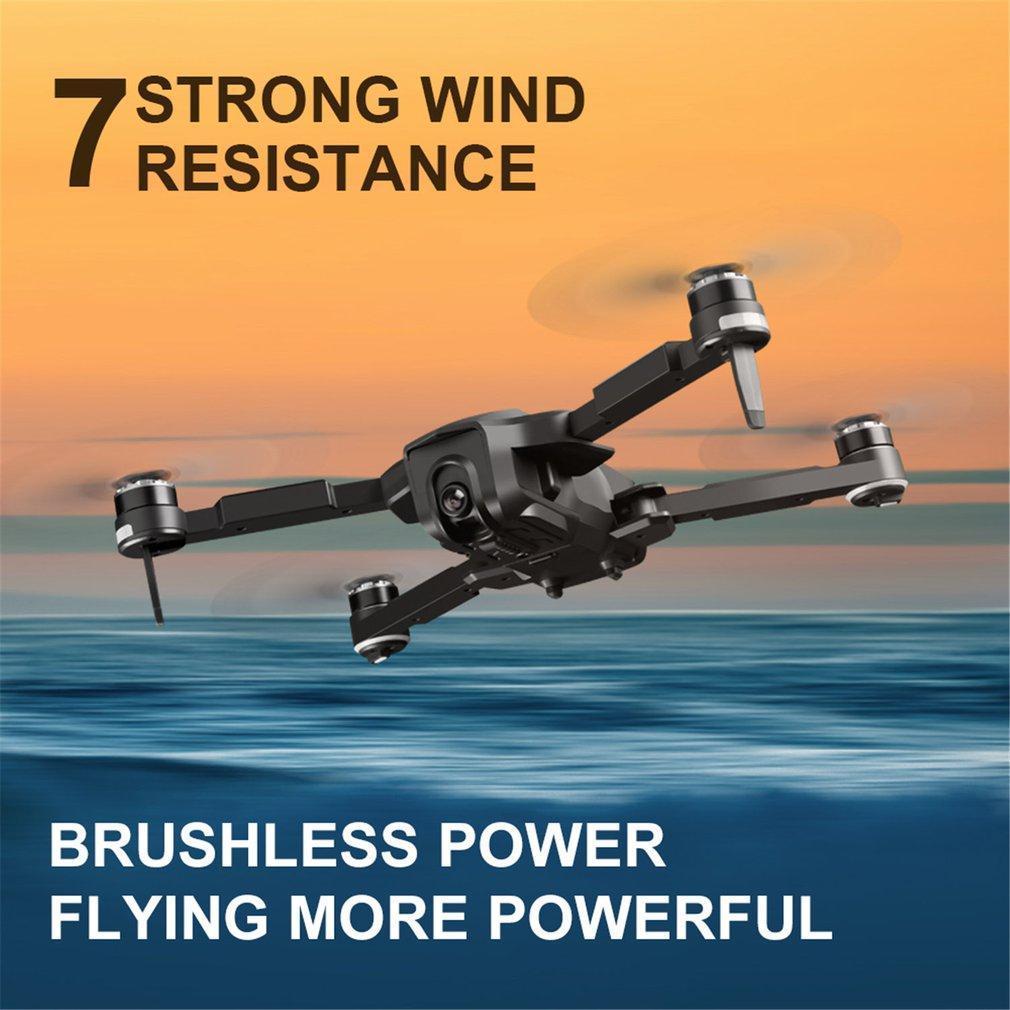 SMRC RC الطائرة بدون طيار، 4K 50 تكبير تايمز HD كاميرا مزدوجة الكهربائية ضبط 90 درجة، 5G WIFI FPV، GPS لتحديد المواقع الذكية متابعة، المسار الطيران، 2-1