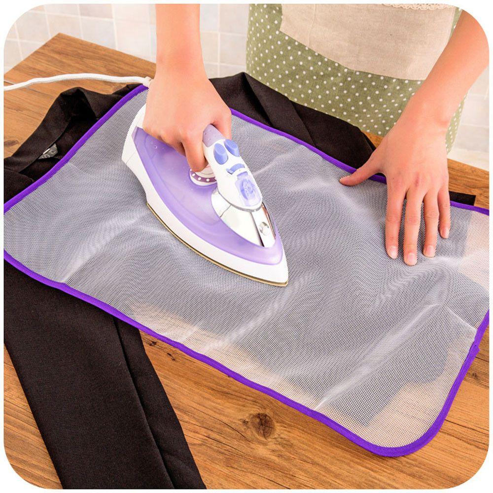 Malla tabla de la almohadilla de tela resistente al calor de planchado protectora cojín del aislamiento de calor-Mat Inicio de planchado
