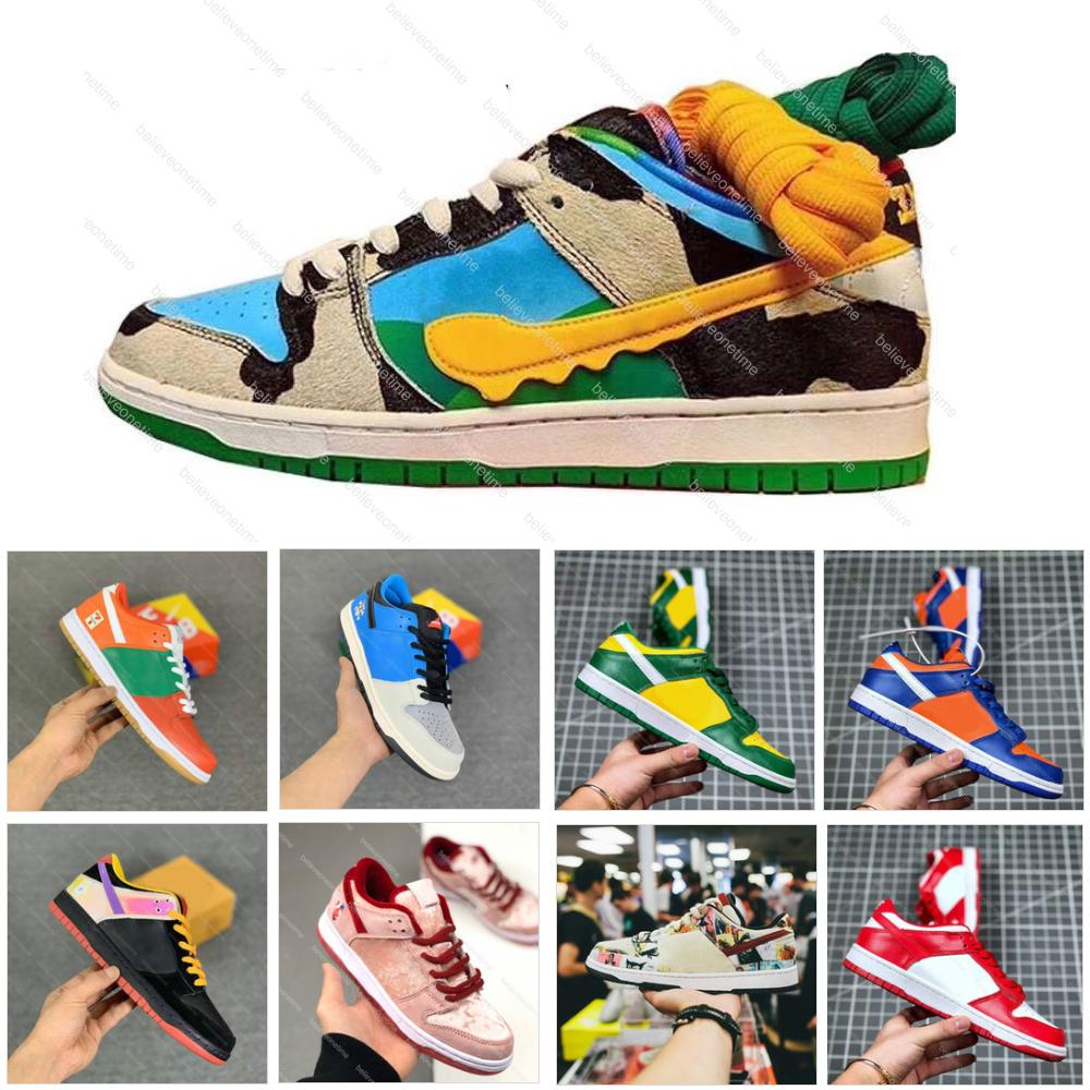 Ce que le Dunk SB Basse Pro Chunky Dunky Freddy Freddy Krueger Hommes Femmes Running Chaussures de course Paris Strangelove Mousseline Skate Sports Sneakers Taille 5.5-11