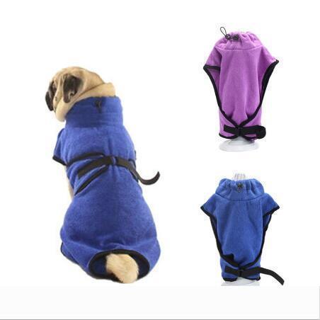 Asciugamano Pet Dog Accappatoio assorbente eccellente dell'animale domestico di essiccazione asciugamano in microfibra Dog Bath Asciugamani rapida asciugatura Cat tovagliolo di bagno Pet Mantello