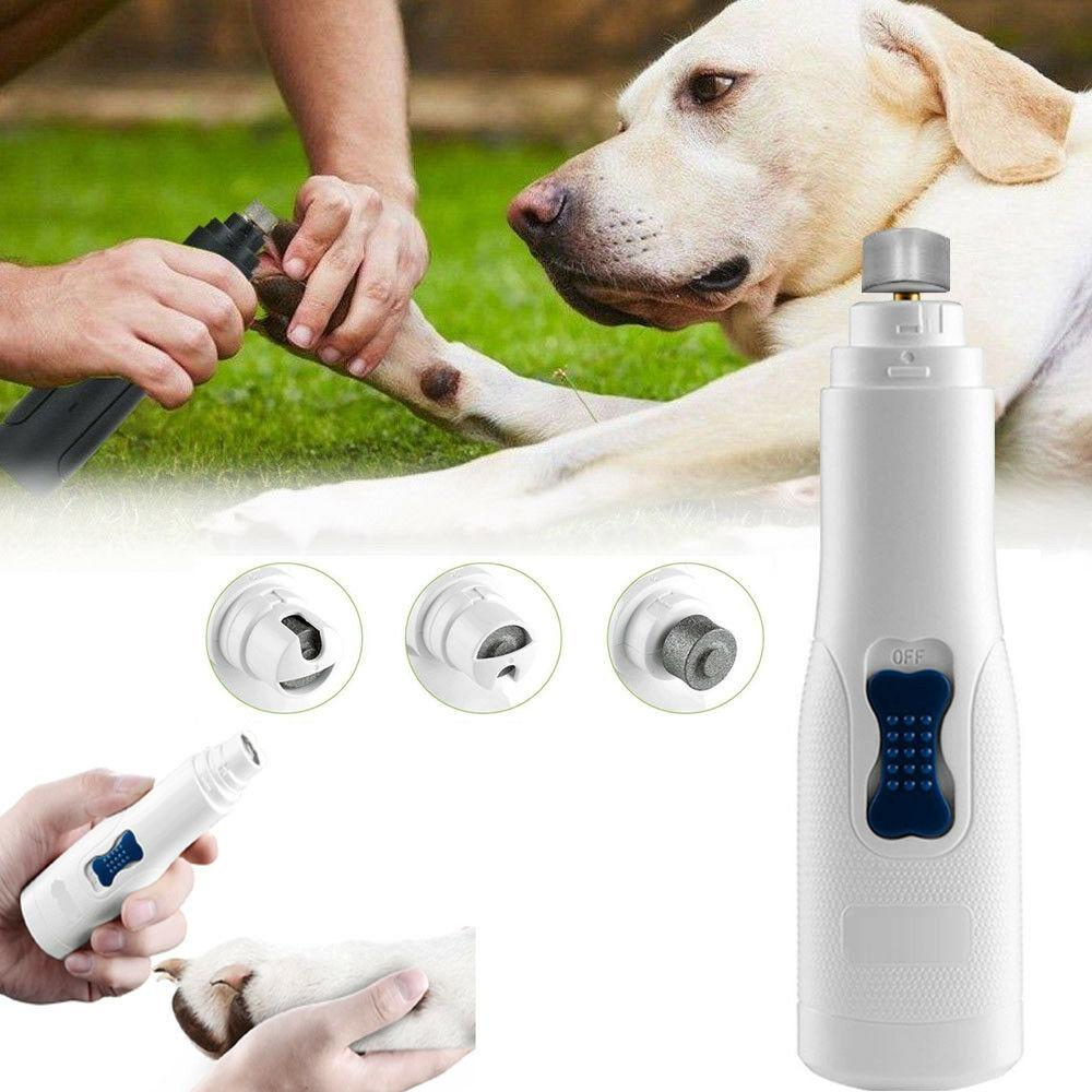 Professional Electric Dog Cat Pet Nail Claw Grinder Trimmer Grooming Tool Clipper Tool Kit
