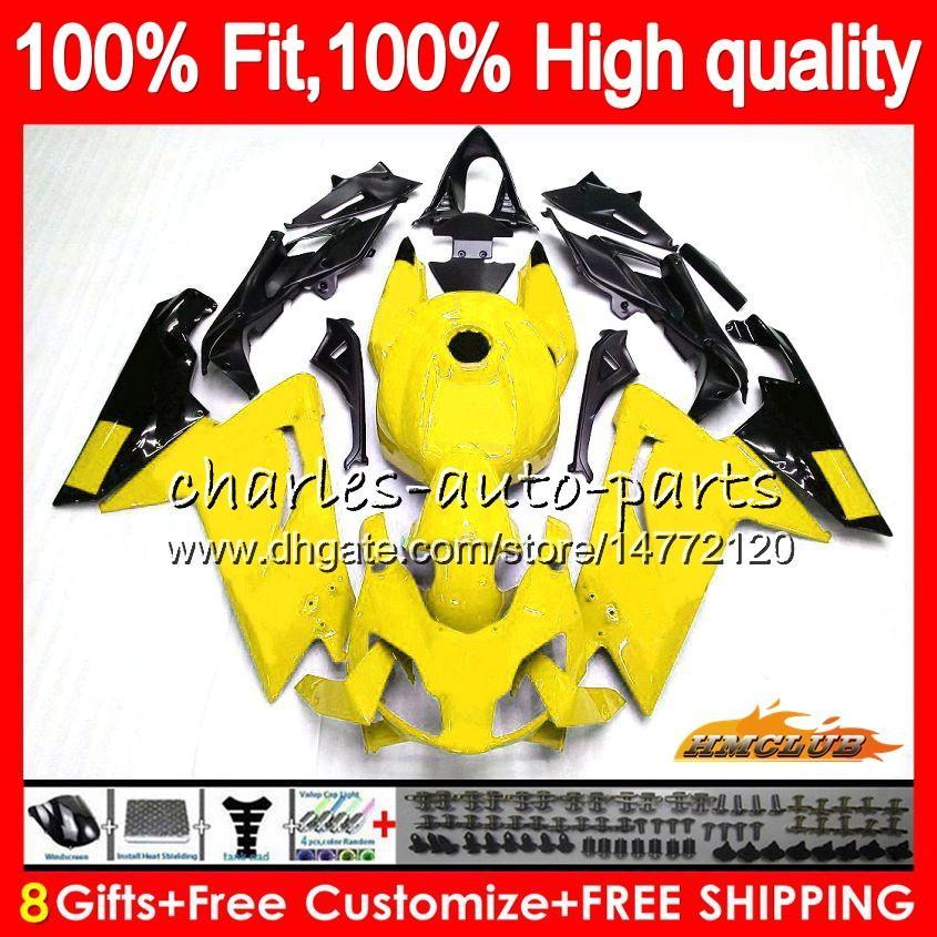 Aprilia RS4 RS125R İçin Enjeksiyon 125 RR açık sarı RSV125 69NO.104 RS125 2006 2007 2008 09 10 11 RS125 06 07 08 2009 2010 2011 kaporta RS